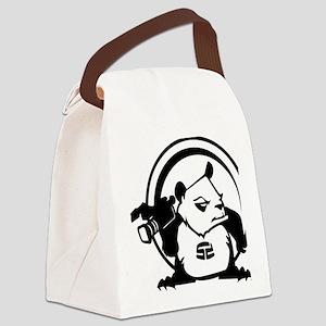 PandaSDCircle Canvas Lunch Bag