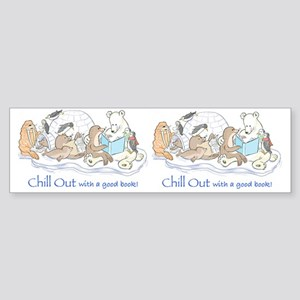 chill out mug Sticker (Bumper)