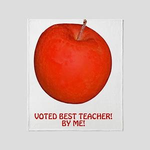 Teacher Appreciation, Reognition Gif Throw Blanket