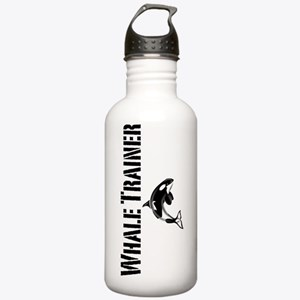 Whale Trainer white co Stainless Water Bottle 1.0L