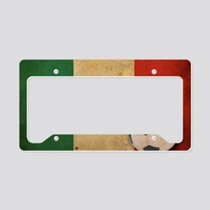 vintageItaly4 License Plate Holder