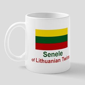Lithuanian Twins-Senele Mug
