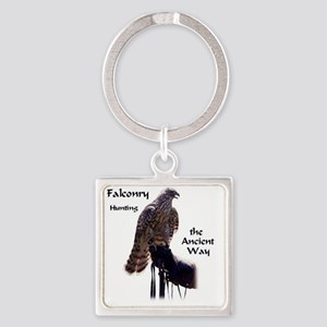 faconry ancient way Square Keychain