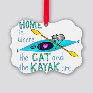 homekayakcat4dark Picture Ornament