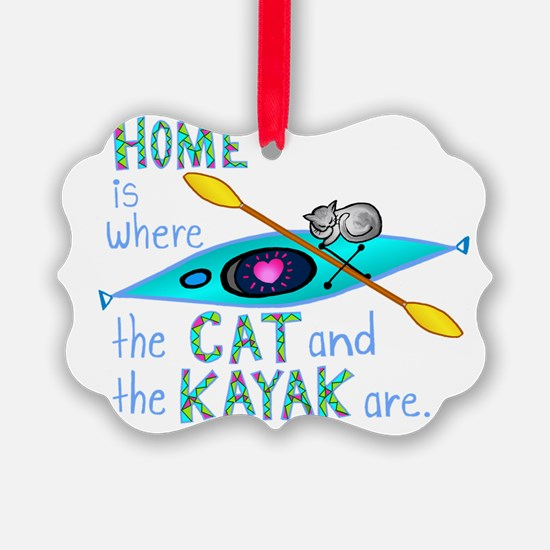 homekayakcat4dark Ornament