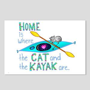 homekayakcat4dark Postcards (Package of 8)