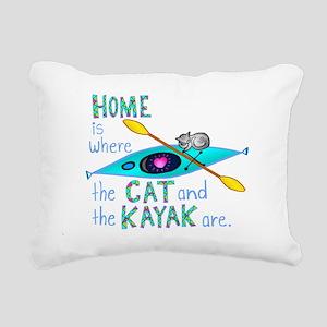homekayakcat4dark Rectangular Canvas Pillow