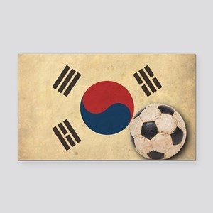 VintageKoreaFlag2 Rectangle Car Magnet