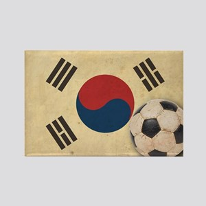 VintageKoreaFlag2 Rectangle Magnet