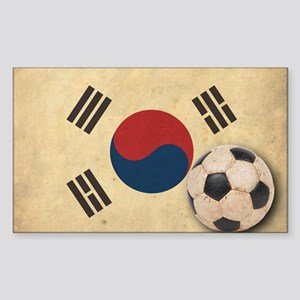 VintageKoreaFlag2 Sticker (Rectangle)