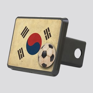 VintageKoreaFlag2 Rectangular Hitch Cover