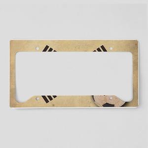VintageKoreaFlag2 License Plate Holder