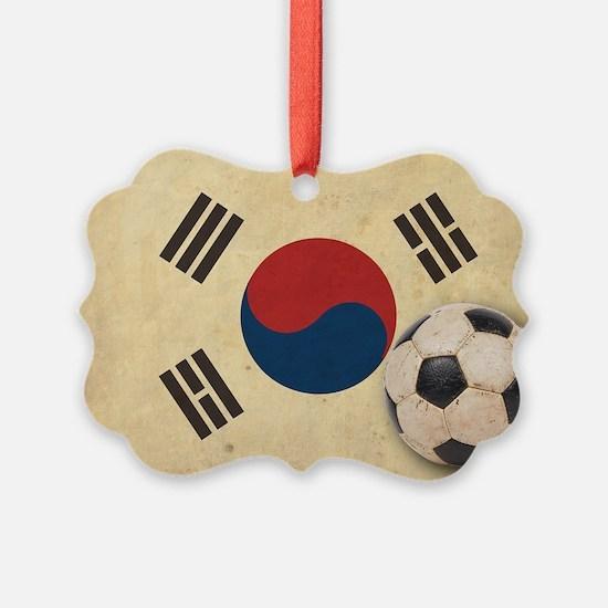 VintageKoreaFlag2 Ornament