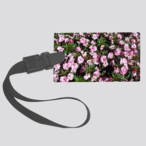 Fall Flowers in Williamsburg, VA Large Luggage Tag