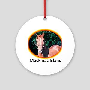 horsecafepress4 Round Ornament