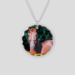 horsecafepress4 Necklace Circle Charm