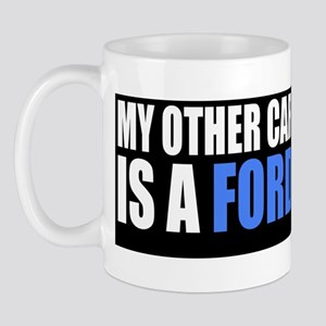 My Other Car is CVN-78 Mug