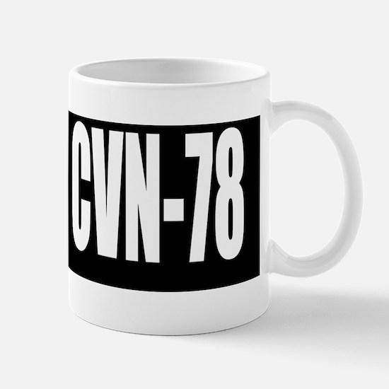 My Other Car is CVN-78 Mug