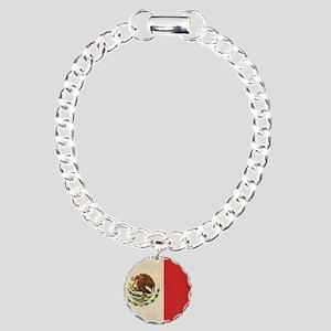 VintageMexico6 Charm Bracelet, One Charm