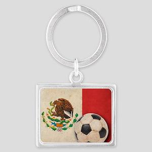 VintageMexico7 Landscape Keychain
