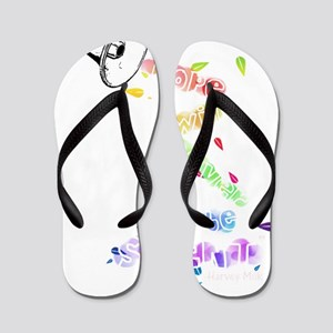 Hopetransparent Flip Flops