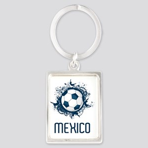 Mexico World Cup 3 Portrait Keychain