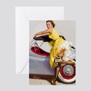 coverup large poster Greeting Card