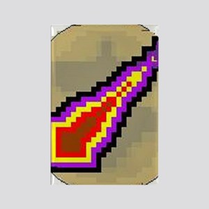 3-protect mage Rectangle Magnet