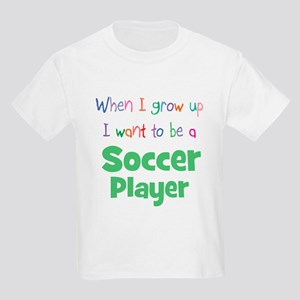 When I Grow Up Soccer Kids T-Shirt