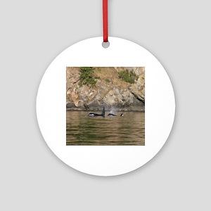 orcas-cstr Round Ornament