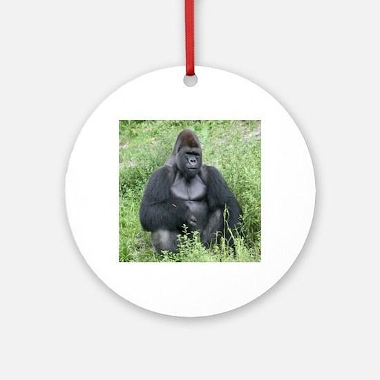 gorilla-cstr Round Ornament