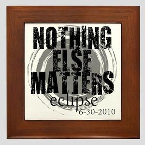 NOthing Else Matters Grey_black Framed Tile