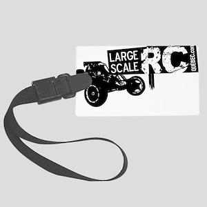Logo LSRCQ LARGE pour couleurs p Large Luggage Tag