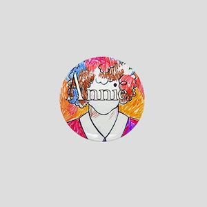 Annie(10X10) Mini Button