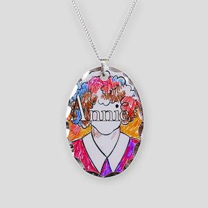 Annie(10X10) Necklace Oval Charm