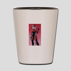 spacegirl scoop 5 Shot Glass