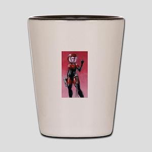 spacegirl standard shirt 1 Shot Glass