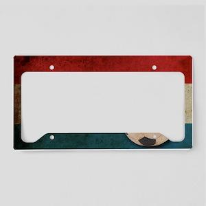 vintageNetherlands2 License Plate Holder