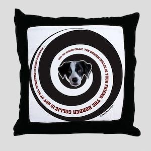 collie domination Throw Pillow