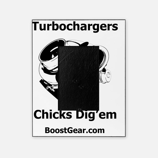 Turbochargers - Chicks Digem - White Picture Frame
