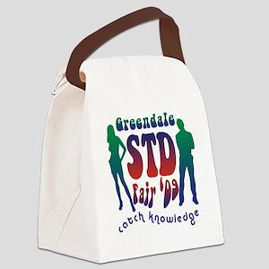 greendale_std Canvas Lunch Bag