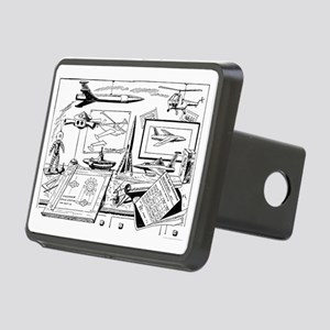 Drawing Board Inventions Rectangular Hitch Cover