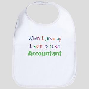 When I Grow Up Accountant Bib