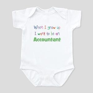 When I Grow Up Accountant Infant Bodysuit