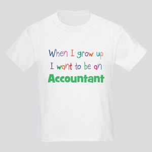 When I Grow Up Accountant Kids T-Shirt