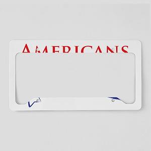 Idiot Free America License Plate Holder