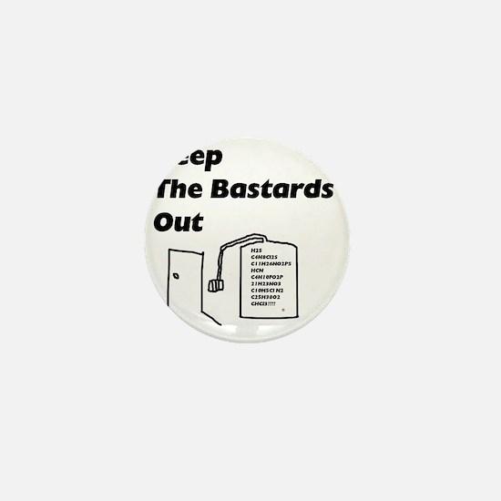 keepbastardsout.gif Mini Button