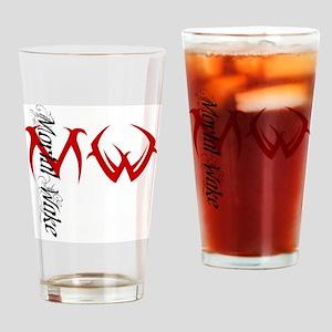 ChrisLogo Drinking Glass