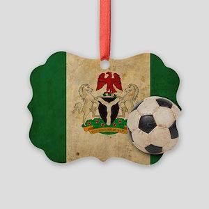 vintageNigeria4 Picture Ornament