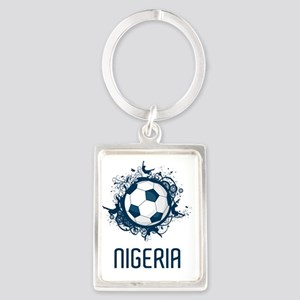 Nigeria World Cup 3 Portrait Keychain